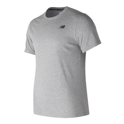 T-shirt de gola redonda, mangas curtas T-shirt de gola redonda, mangas curtas NEW BALANCE