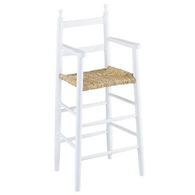 chaise haute blanche la redoute. Black Bedroom Furniture Sets. Home Design Ideas