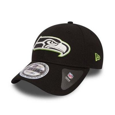 163aeea2f5695 Casquette New Era 940 Seattle Seahawks 9Forty Team GITD Noir NEW ERA