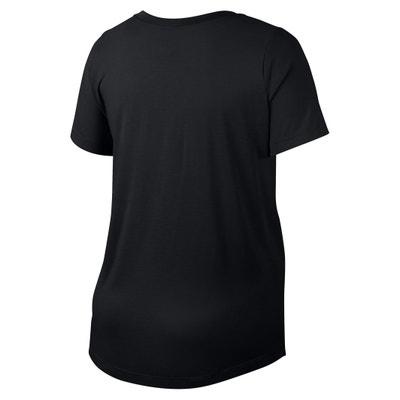 Printed Short-Sleeved Crew Neck T-Shirt NIKE
