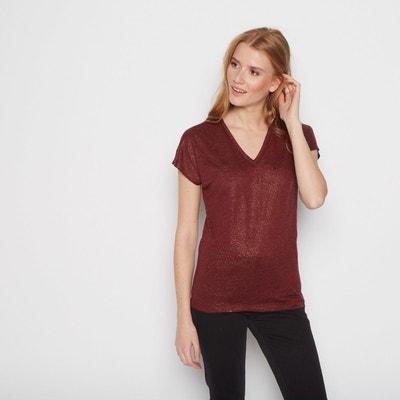 Tee shirt manche courte femme Monoprix en solde   La Redoute cb59af120710