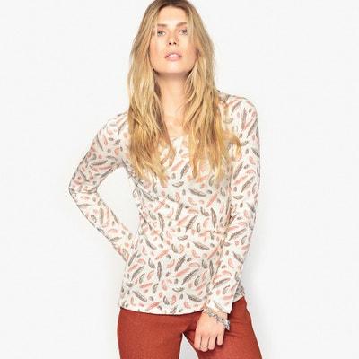 T-shirt cotone fiammato T-shirt cotone fiammato ANNE WEYBURN