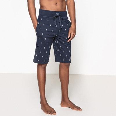 Pyjama short, zuiver katoen, motief van ruiter logo Pyjama short, zuiver katoen, motief van ruiter logo POLO RALPH LAUREN