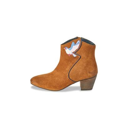 Vavy Leather Ankle Boots Vavy Leather Ankle Boots KAPORAL 5