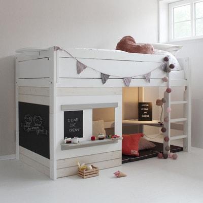 lit mezzanine superpos en solde la redoute. Black Bedroom Furniture Sets. Home Design Ideas