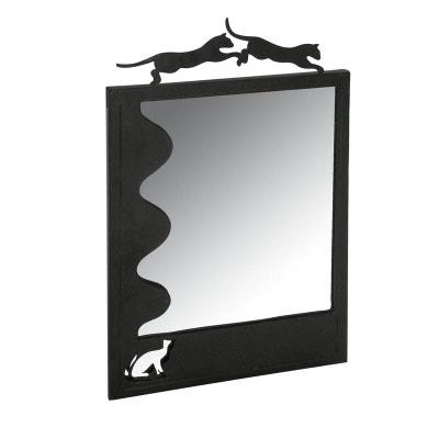 Miroir en métal chats Miroir en métal chats AUBRY GASPARD