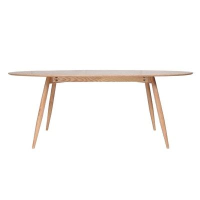 Table à manger ovale frêne naturel 200 cm BALTIK Table à manger ovale frêne naturel 200 cm BALTIK MILIBOO
