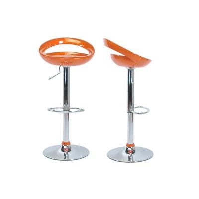 tabouret de bar orange la redoute. Black Bedroom Furniture Sets. Home Design Ideas