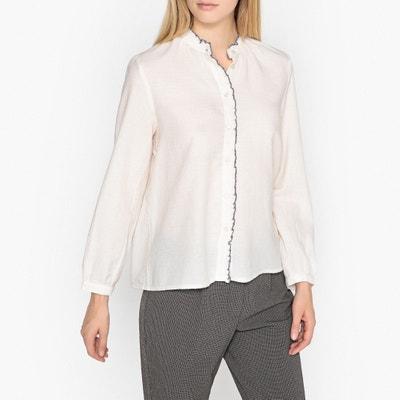 Рубашка с воротником-стойкой и длинными рукавами ENDRICK Рубашка с воротником-стойкой и длинными рукавами ENDRICK HARRIS WILSON