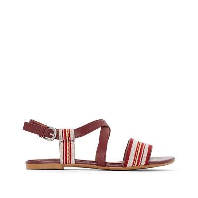 Sandálias em tecido La Redoute Collections