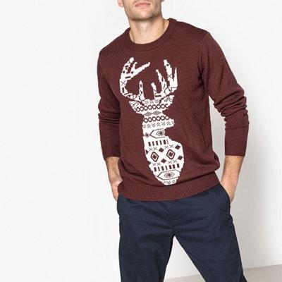 Christmas Crew Neck Jumper/Sweater Christmas Crew Neck Jumper/Sweater La Redoute Collections