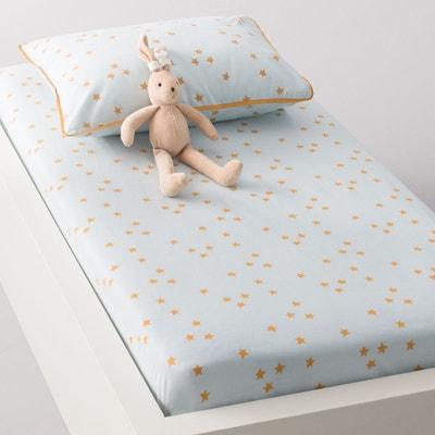 Drap housse bébé LAPIN, imprimé, en coton. Drap housse bébé LAPIN, imprimé, en coton. La Redoute Interieurs