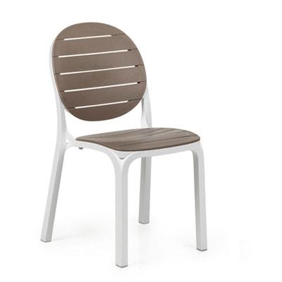 Chaise moderne blanche en solde la redoute - Chaises la redoute soldes ...