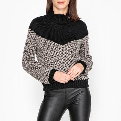 Пуловер с воротником-стойкой и напускными рукавами MANTEQUILLOU Пуловер с воротником-стойкой и напускными рукавами MANTEQUILLOU LEON and HARPER
