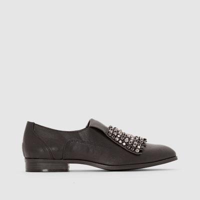 Ботинки-дерби со вставкой-украшением Ботинки-дерби со вставкой-украшением MADEMOISELLE R