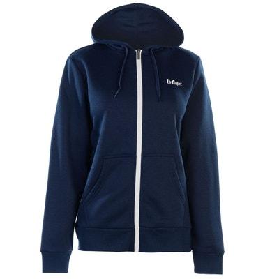 Veste polaire femme bleu marine
