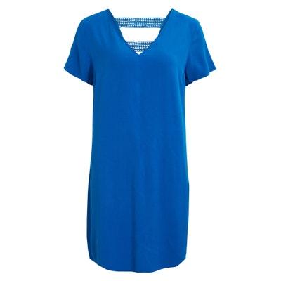 Dress with Openwork Detailed Back VILA