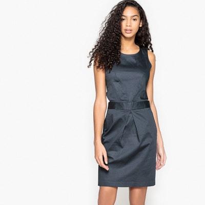 Kleid, gerade Form, seitliche Öffnung in Top-Optik La Redoute Collections