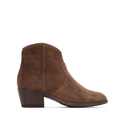 Boots in leer Dallas MJUS