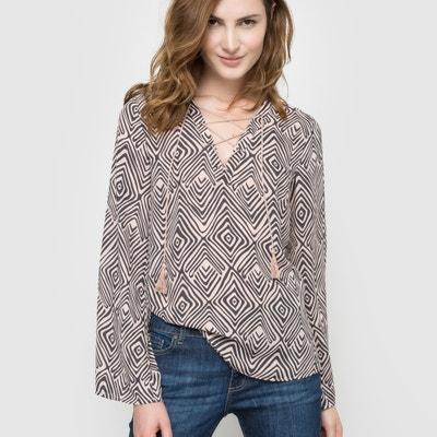 Bedrukte soepele blouse Bedrukte soepele blouse LES PETITES BOMBES