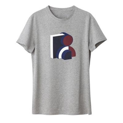 881a49f5b23d2 Tee shirt col rond imprimé Tee shirt col rond imprimé LA REDOUTE COLLECTIONS
