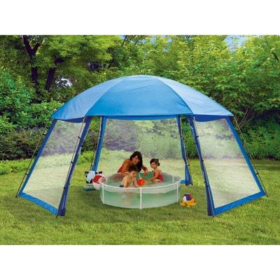abri de piscine en polyester 3 portes 6 x 52 x 28 m abri de piscine habitat et jardin - Abri De Jardin 5m2
