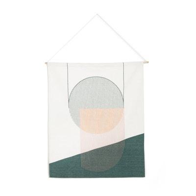 Déco murale, coton imprimé COTIAM Déco murale, coton imprimé COTIAM LA REDOUTE INTERIEURS