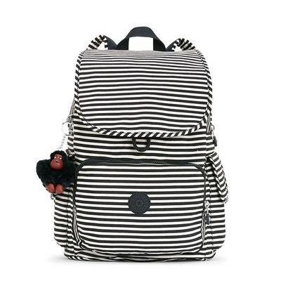 Petit sac à dos City Pack 37 cm Marine Stripy KIPLING