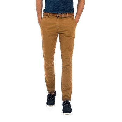 Pantalons chinos Andy avec ceinture offerte SALSA