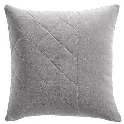 Federa per cuscino, velluto trapuntato, RECINTO La Redoute Interieurs