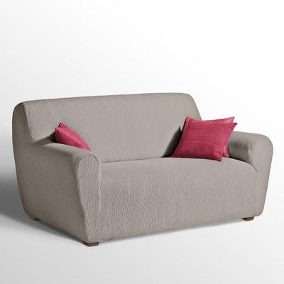 Housse canape beige la redoute for Housse pour canape et fauteuil en cuir