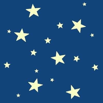 Étoiles lumineuses stickers Étoiles lumineuses stickers NATURE ET DECOUVERTES