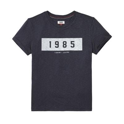 T-shirt con scollo rotondo logo 1985 TOMMY JEANS T-shirt con scollo rotondo logo 1985 TOMMY JEANS TOMMY JEANS