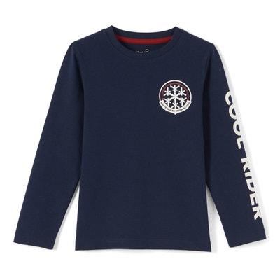 T-shirt a maniche lunghe da 3 a 12 anni La Redoute Collections