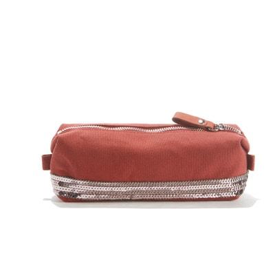Cotton Pencil Case with Sequin Detail Cotton Pencil Case with Sequin Detail VANESSA BRUNO