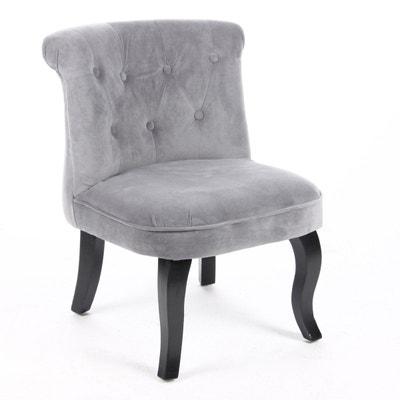 fauteuil crapaud velours la redoute. Black Bedroom Furniture Sets. Home Design Ideas