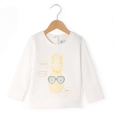 Pineapple Print Sweatshirt, 1 Month-3 Years Pineapple Print Sweatshirt, 1 Month-3 Years La Redoute Collections