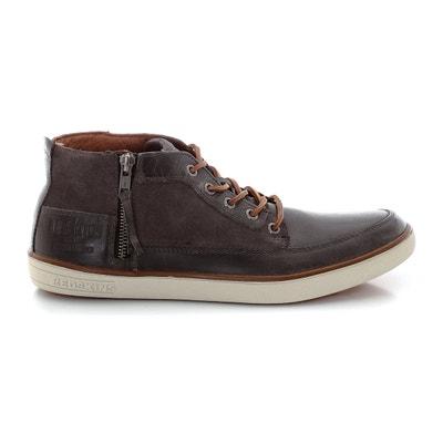 Boots Dardar, veters en rits, vaarsleer REDSKINS