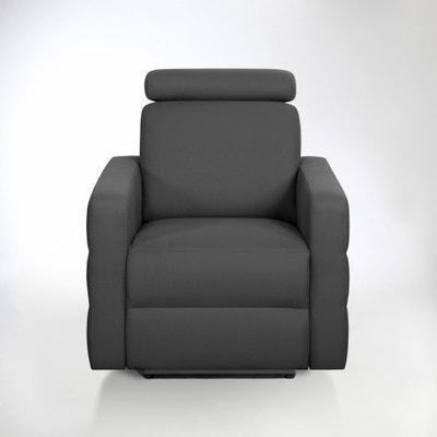 Fauteuil de relaxation électrique coton demi-natté, Hyriel Fauteuil de relaxation électrique coton demi-natté, Hyriel La Redoute Interieurs