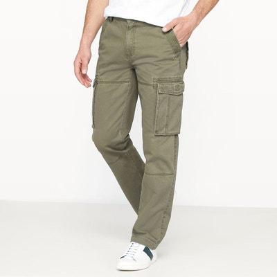 Pantalon cargo regular pur coton Pantalon cargo regular pur coton La Redoute Collections