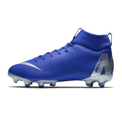 Chaussures football Nike Mercurial Superfly VI Academy DF MG Bleu Junior Chaussures football Nike Mercurial Superfly VI Academy DF MG Bleu Junior NIKE