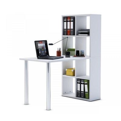 Bureau bibliothèque blanc TERRE DE NUIT