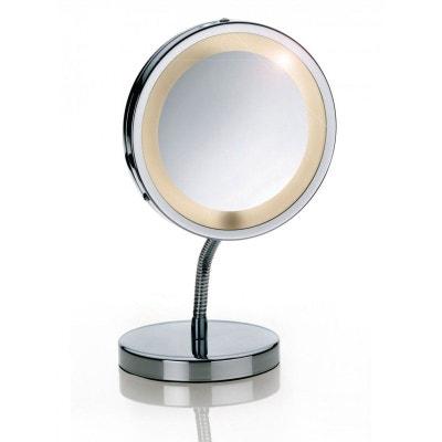 Miroir Grossissant Lumineux X10 mirroir grossissant | la redoute