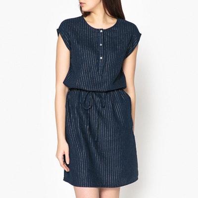 Платье в полоску с радужным отливом RAINETTE Платье в полоску с радужным отливом RAINETTE HARTFORD