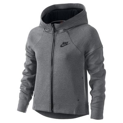Sweat Nike Tech Fleece Full-Zip Junior - 807563-091 Sweat Nike Tech Fleece 21d1378b87ea