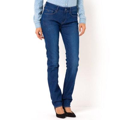 Jean coupe droite, taille haute, 3301 Contour High Jean coupe droite, taille haute, 3301 Contour High G STAR