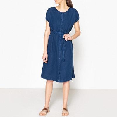 Line Plain Linen Dress Line Plain Linen Dress HARRIS WILSON