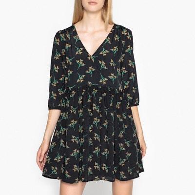 Flower Printed Short Dress BA&SH