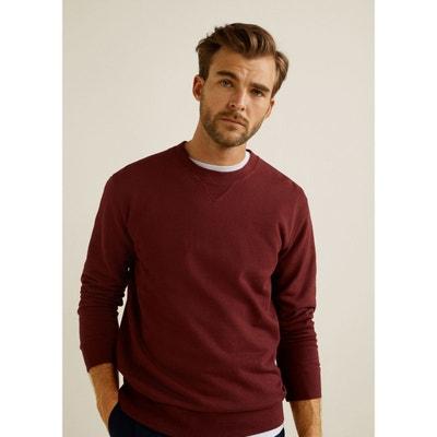 6914227013777 Sweat-shirt basique coton Sweat-shirt basique coton MANGO MAN. Soldes
