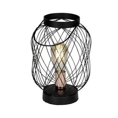 Lampe ampoule BROGAN noire en métal Lampe ampoule BROGAN noire en métal KERIA